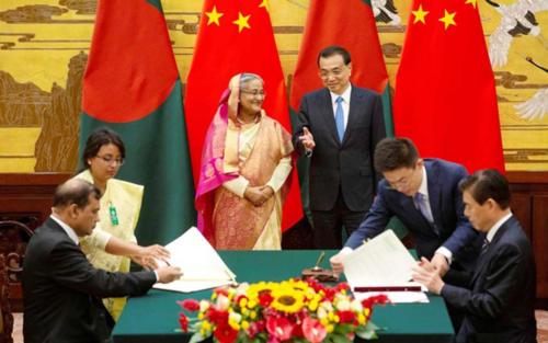 Hasina-Li-Keqiang-bilateral-Reuters-01